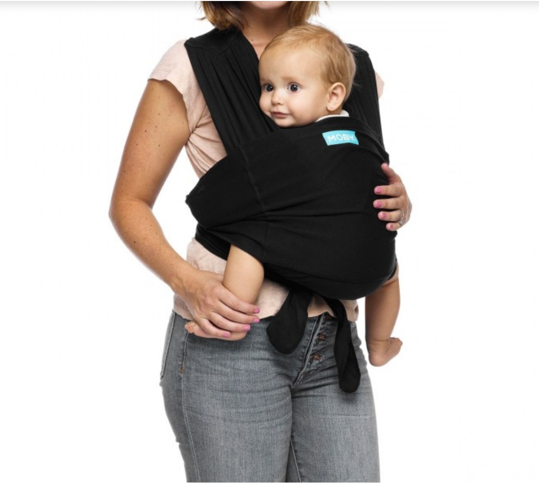 Moby Wrap Moby Fit Hybrid Carrier | Black