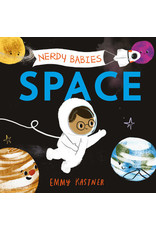 Nerdy Baby Board Book | SPACE