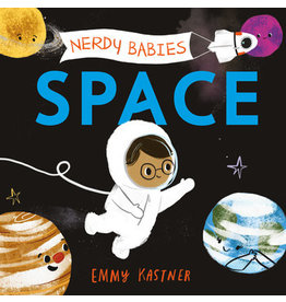 Nerdy Baby Board Book   SPACE
