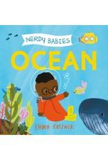 Nerdy Babies Board Book   OCEAN