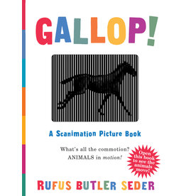 Workman Publishing Gallop! Scanimation Book