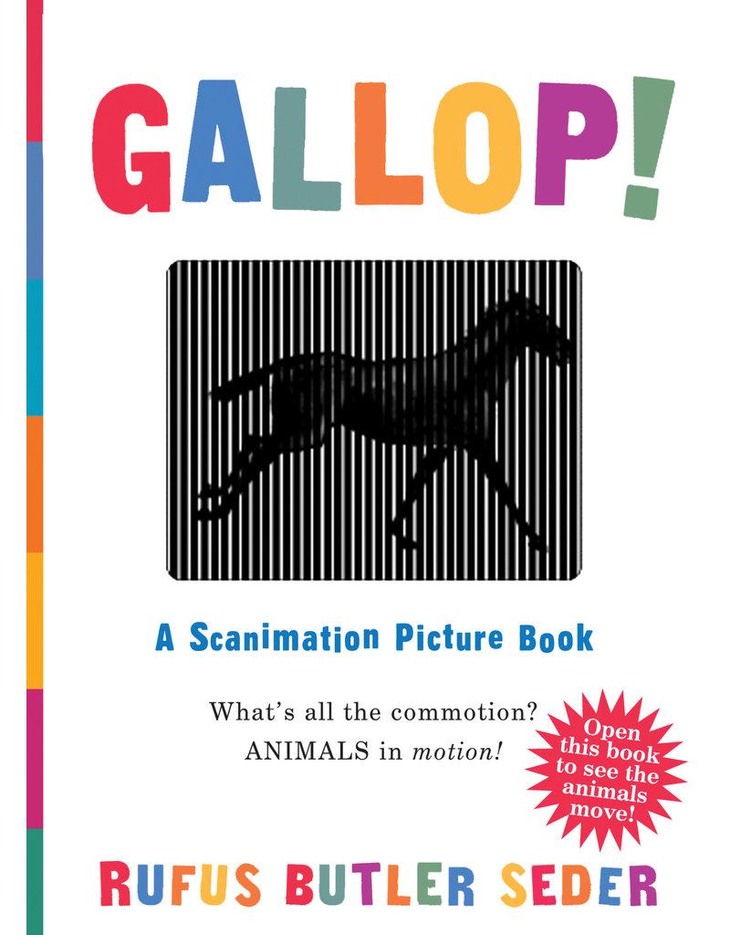 Workman Publishing Gallop Scanimation Book