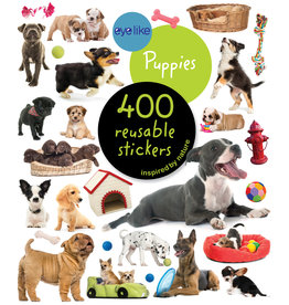 Workman Publishing Eyelike Puppies Sticker book