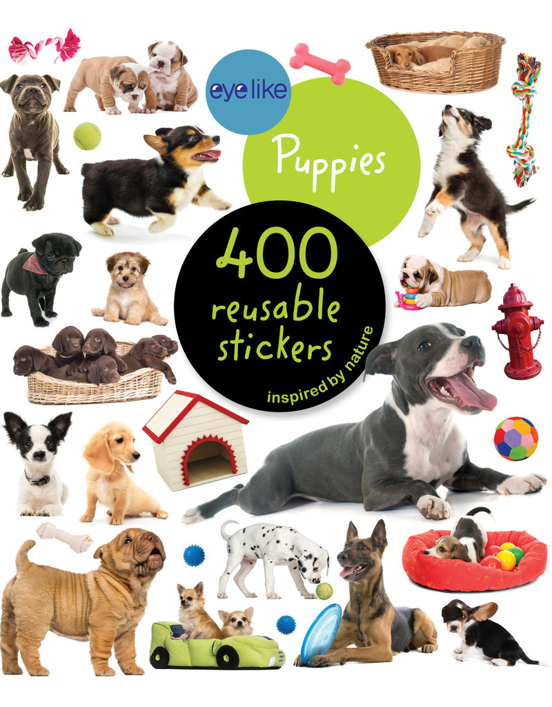 Workman Publishing Eyelike Puppies Sticker book