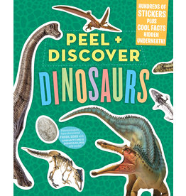 Workman Publishing Peel & Discover Dinosaurs Sticker Book