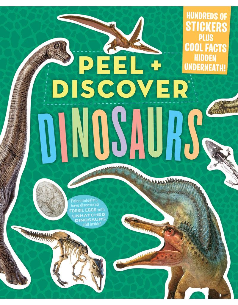 Workman Publishing Peel & Discover Dinosaurs Sticker Book