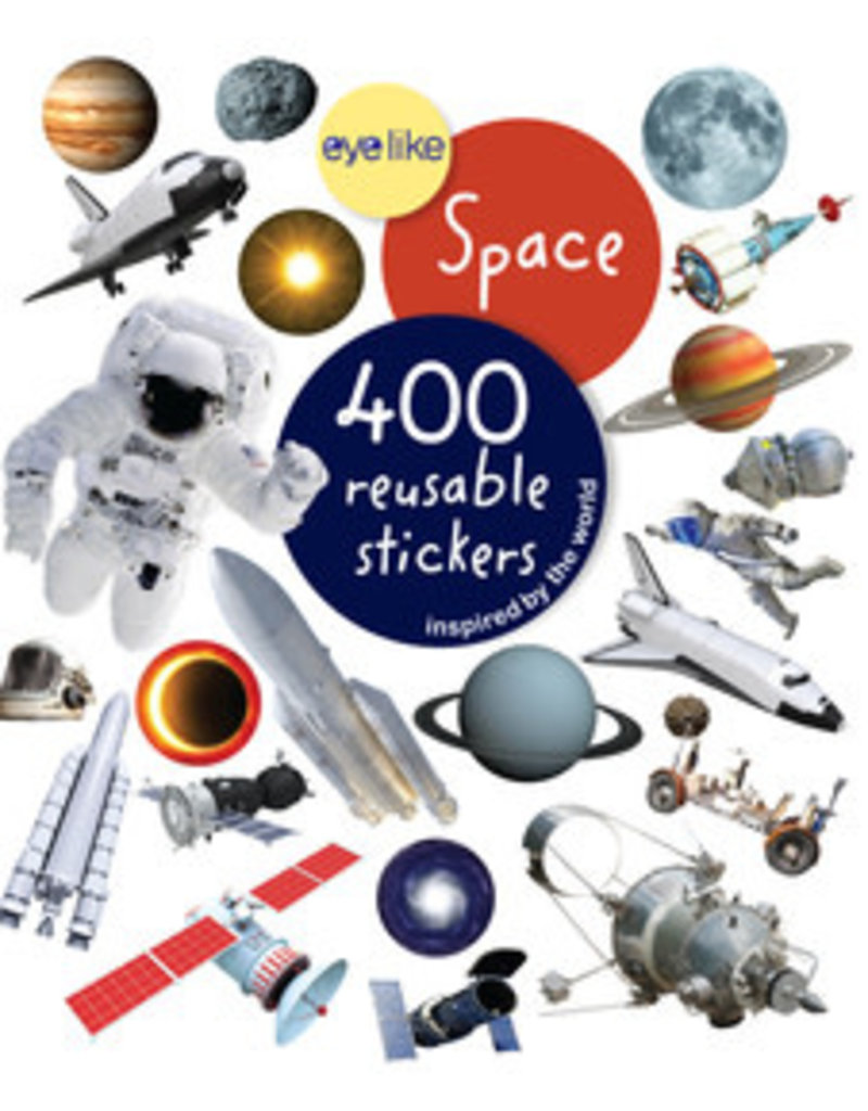 Workman Publishing Eyelike Space Sticker Book