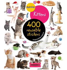 Eyelike Kittens Sticker Book