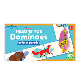 eeBoo eeboo | Head to Toe Animal Parade Dominoes
