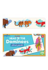 eeBoo eeboo | Head to Toe Animal Parade Dominoes