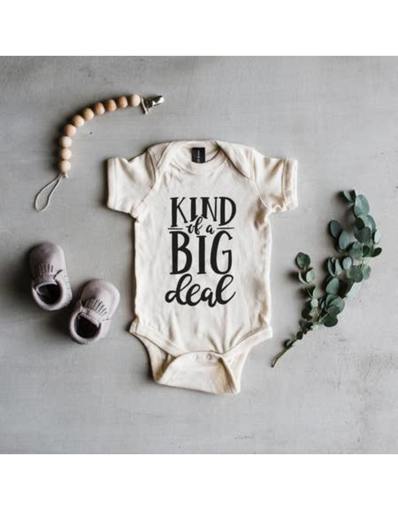 The Oyster's Pearl The Oyster's Pearl Big Deal Onesie