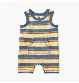 Tea Collection Tea Collection| Cornflower Stripe Tank Romper