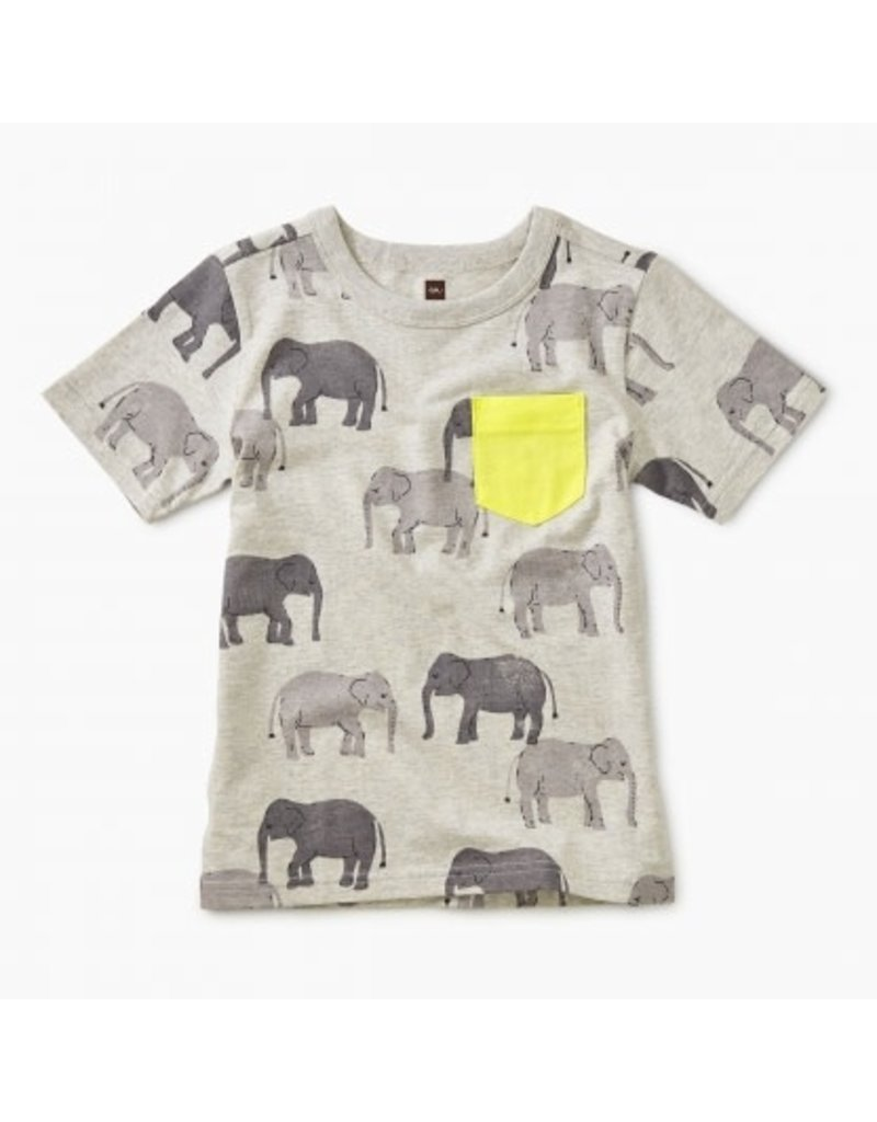 Tea Collection Tea Collection |Tons of Trunks Pocket Tee