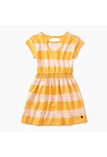 Tea Collection Tea Collection |Painted Stripe Keyhole Dress