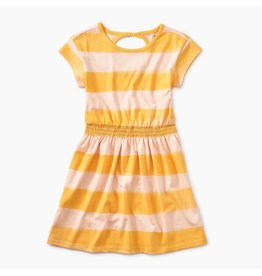 Tea Collection Tea Collection | Painted Stripe Keyhole Dress