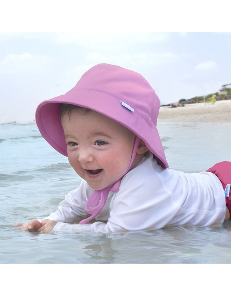 I Play i Play | Breathable Swim & Sun Bucket Hat in Pink