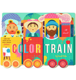 Color Train Unfolding Book