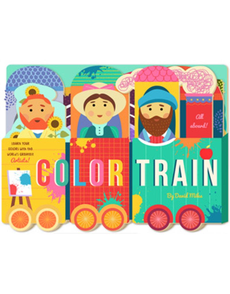Color Train Unfolding Book