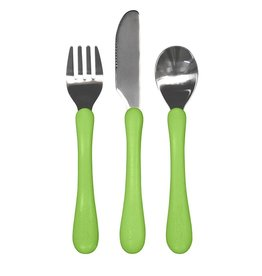 Green Sprouts | Learning Cutlery Set Green