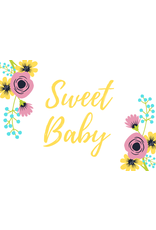 Sweet Baby Card Yellow