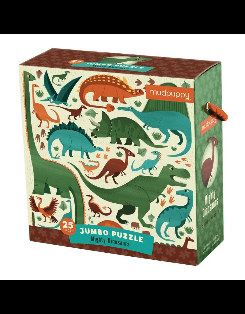 Mighty Dinosaurs Jumbo Puzzle