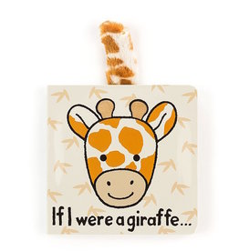 JellyCat JellyCat | If I Were A Giraffe Board Book