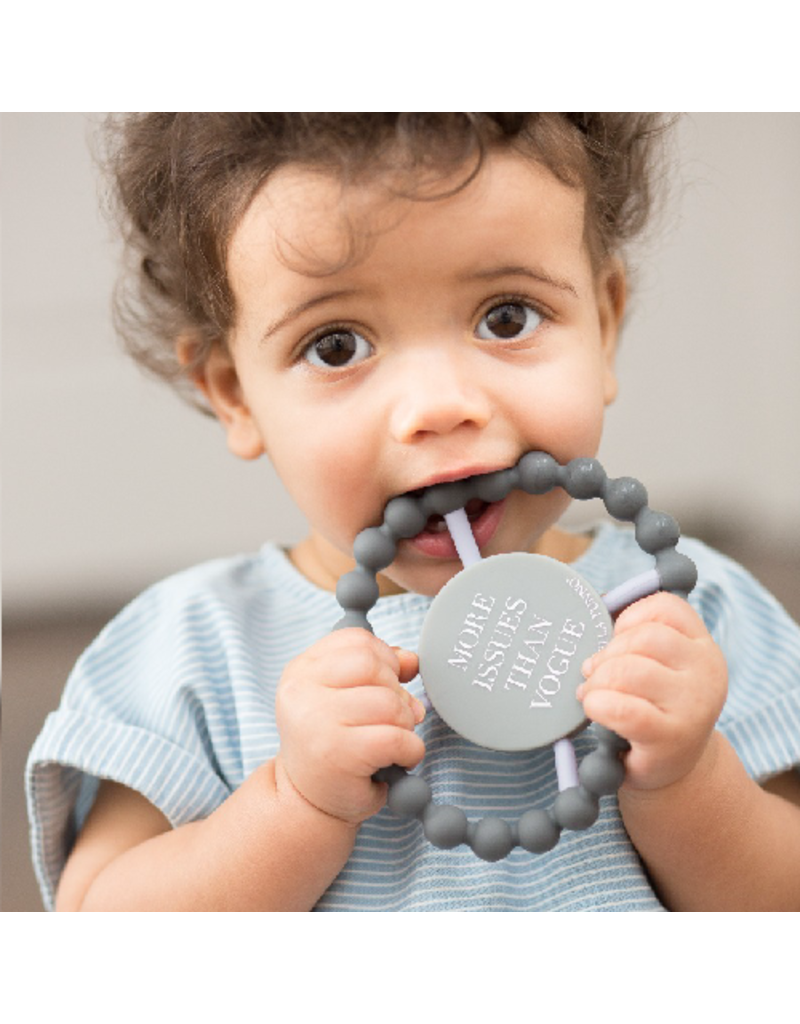 Bella Tunno Bella Tunno Happy Teether | More Issues than Vogue
