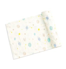 Angel Dear Angel Dear | Cosmic Wonder Bamboo Jersey Swaddle