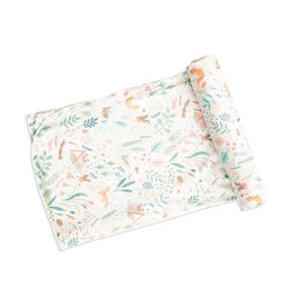 Angel Dear Angel Dear | Woodland Floral Bamboo Jersey Swaddle