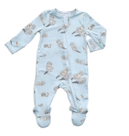 Angel Dear Angel Dear | Otters Zipper Footie