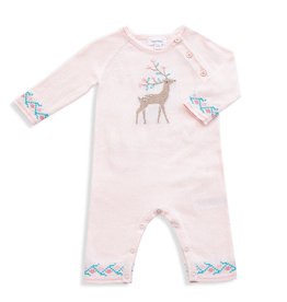 Angel Dear Angel Dear | Deer Intarsia Coverall