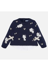 Mayoral Mayoral | Kittens Sweater in Navy