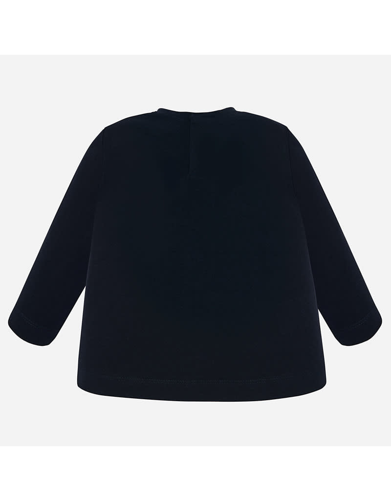 Mayoral Mayoral | Bow Embellished Long Sleeve Tee