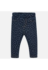Mayoral Mayoral | Heart Print Baby Jegging