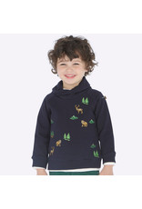 Mayoral Mayoral | Forest Embroidered Sweatshirt