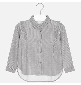 Mayoral Mayoral | Fine Stripe Blouse