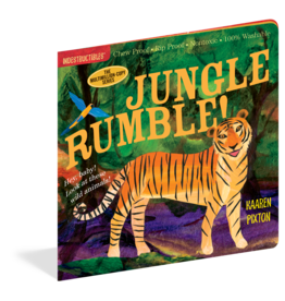 Workman Publishing Indestructibles Jungle Rumble Book