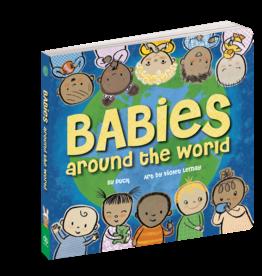 Babies Around the World Board Book