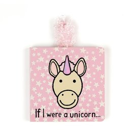 JellyCat JellyCat | If I Were A Unicorn Board Book