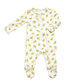 Angel Dear Angel Dear | Baby Corn Zipper Footie