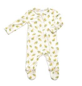 Angel Dear Angel Dear | Baby Corn Zipper Footie