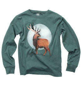 Wes & Willy | Evergreen Deer Tee