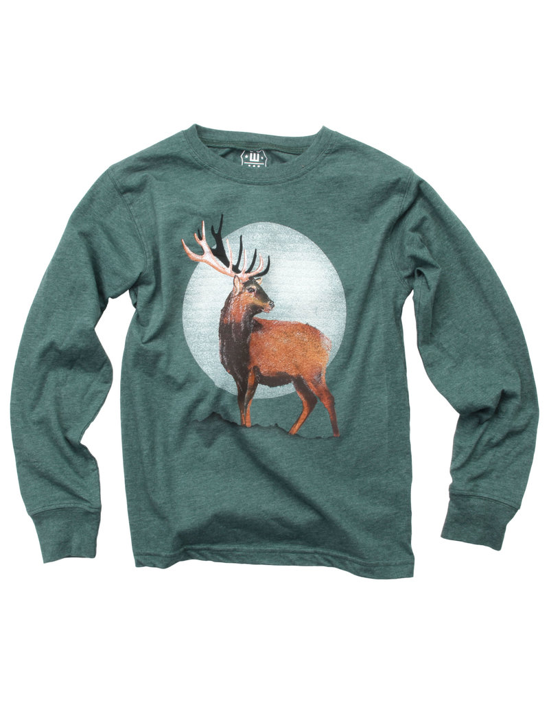 Wes & Willy | Evergreen Deer Tee