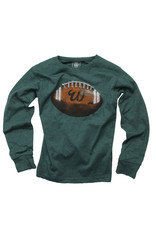 Wes & Willy | Evergreen Football Tee