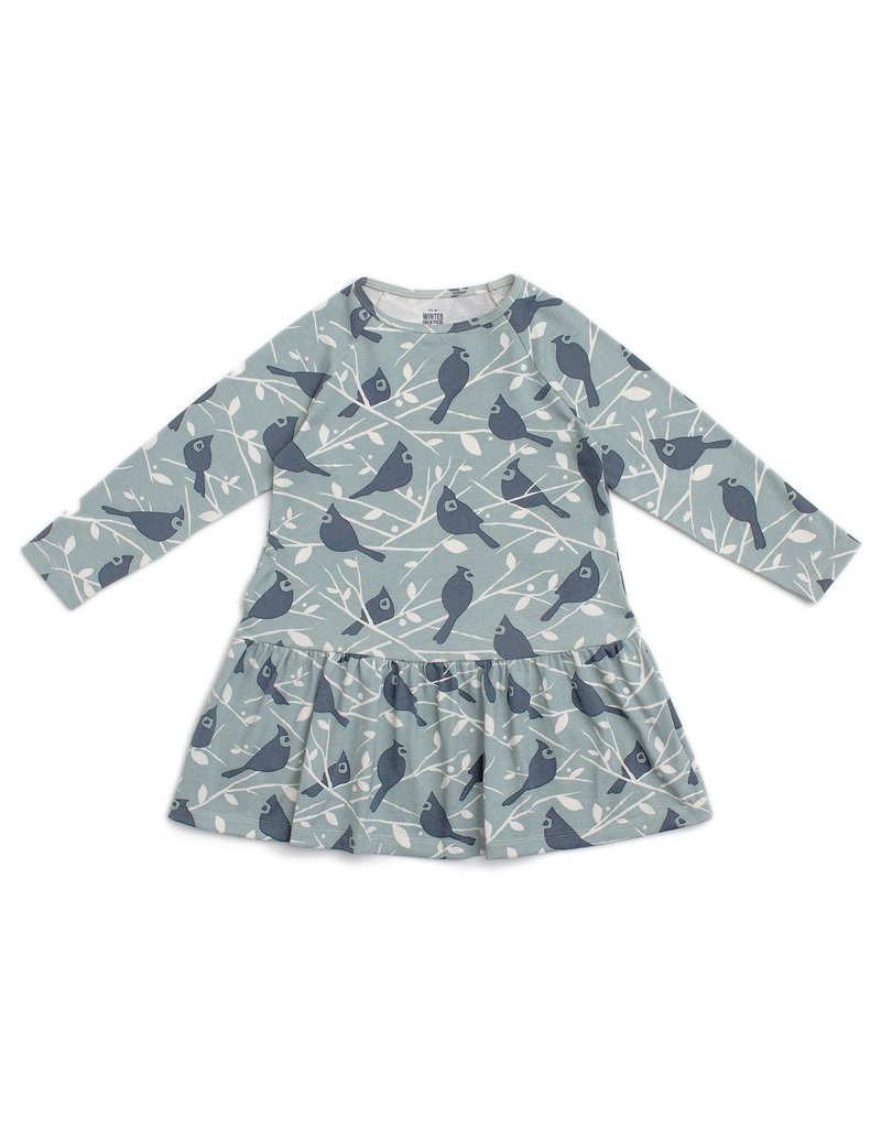Winter Water Factory Winter Water Factory | Birds in the Trees Madison Dress