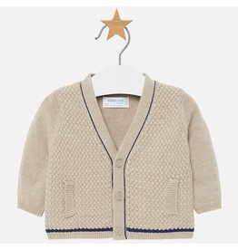 Mayoral Mayoral | Textured Baby Cardigan