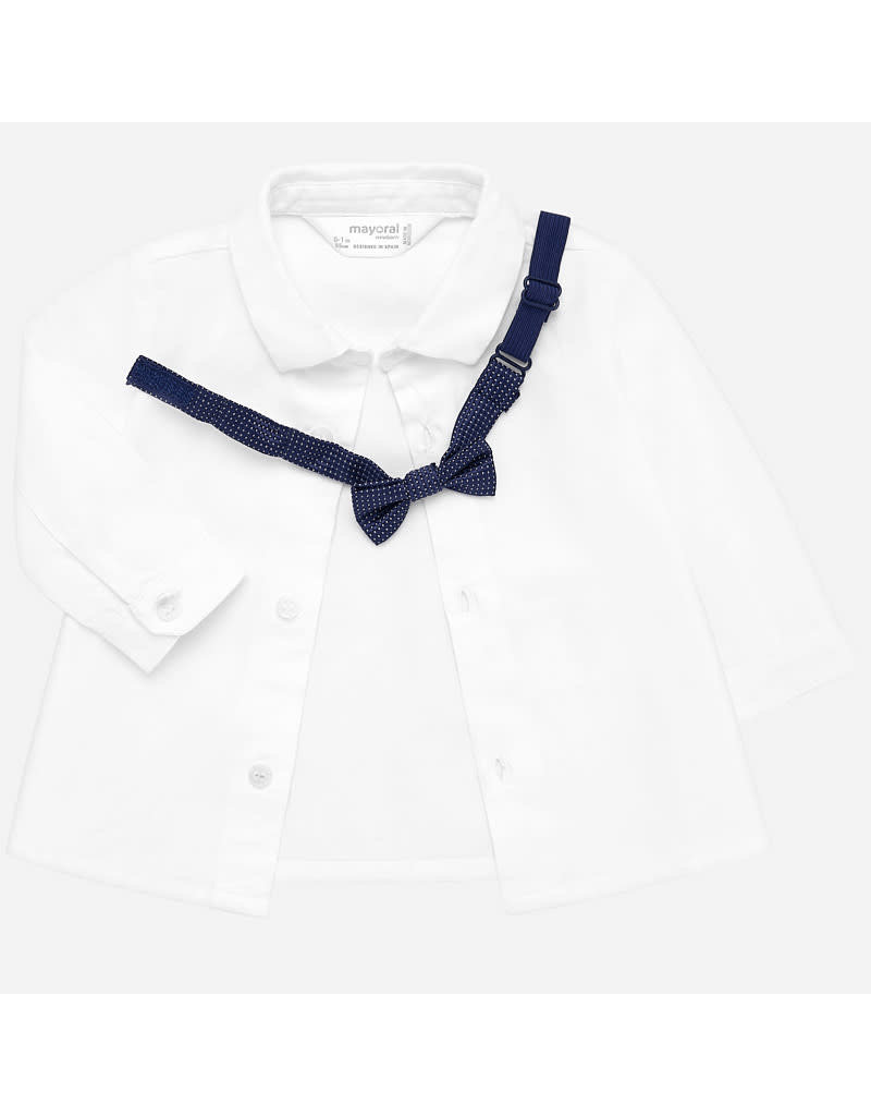 Mayoral Mayoral | Shirt & Bowtie Set