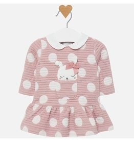 Mayoral Mayoral | Polka Dot Bunny Dress