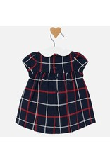 Mayoral Mayoral | Smocked Plaid Baby Dress