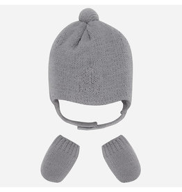 Mayoral Mayoral | Earflap Hat and Mitts Set